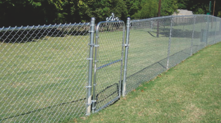 Chain link fencing is very popular in the area for several reasons. One of the most common reasons is affordability. Chain link fences also comes in many different colors and styles and can provide great security to any property.