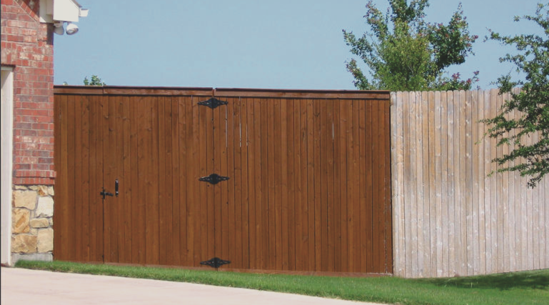 lubbock fencing fence staining