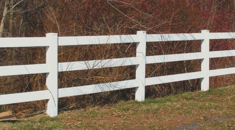 Vinyl fences are durable and very strong. They are great for privacy and can greatly increase your property value! Vinyl material can come in many different colors and fence styles to fit your residential or commericial property.